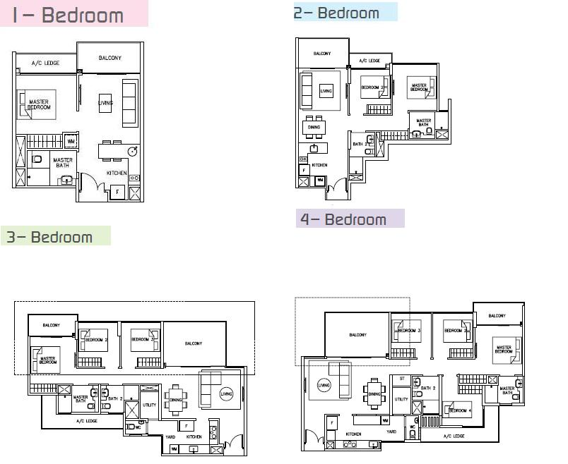 Unit floor plan ripple bay sales for Floor plans quantum bay